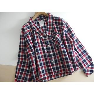 エージープラス(a.g.plus)の春夏 ⚫a.g.plus⚫ エージープラス ゆったり身幅 チェックシャツ M ♪(シャツ/ブラウス(長袖/七分))