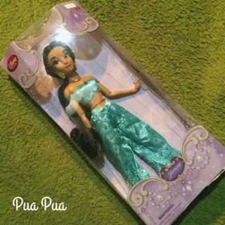 ディズニー(Disney)の新品!日本未発売■ ジャスミン フィギュア人形■ 希少ディズニーアラジン(ぬいぐるみ/人形)