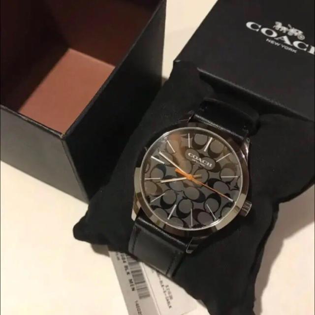 timeless design 5e861 1a4d8 新品 コーチ 時計 COACH W1584 BLK メンズ腕時計 ウォッチ 黒 | フリマアプリ ラクマ