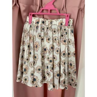ローリーズファーム(LOWRYS FARM)のLOWRYSFARM 花柄スカート(ミニスカート)