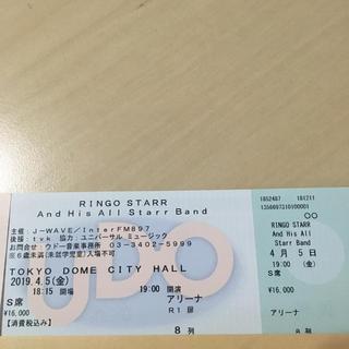(ディスコキング様専用)リンゴスター 4/5(金) アリーナ8列目 1枚(海外アーティスト)