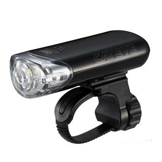 キャットアイ(CATEYE)の(美品)Cateye フロントライト ブラック HL-EL140 電池4本付(その他)