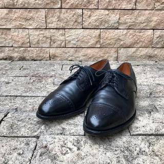 アレンエドモンズ(Allen Edmonds)のアレンエドモンズ USA 革靴 ビジネスシューズ レザー 黒 大きい 高価 29(ドレス/ビジネス)