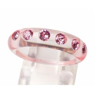 ボンボンウォッチ  一連リング〈ピンク〉(リング(指輪))