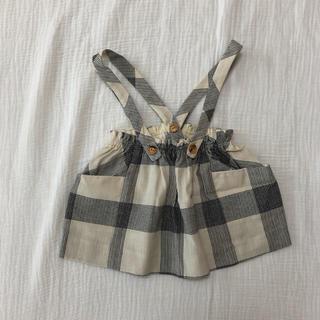 ザラキッズ(ZARA KIDS)のzara baby 吊りスカート(スカート)