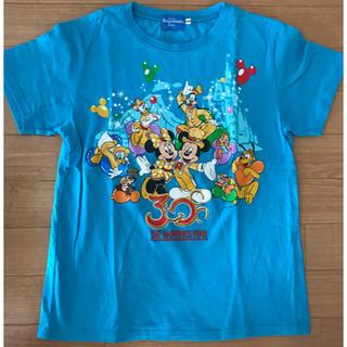 ディズニー(Disney)の【ディズニーリゾート限定】ハピネスイヤーTシャツ 140サイズ(Tシャツ/カットソー)