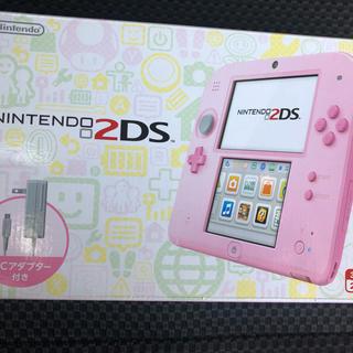 ニンテンドー2DS(ニンテンドー2DS)の任天堂 2DS ピンク 新品 保証あり(携帯用ゲーム本体)