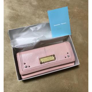 サマンサタバサプチチョイス(Samantha Thavasa Petit Choice)のサマンサタバサ プチチョイス クラッチデザイン ウォレット・長財布(財布)