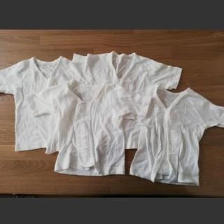 コンビミニ(Combi mini)のコンビミニ ワンタッチ肌着 4枚(肌着/下着)