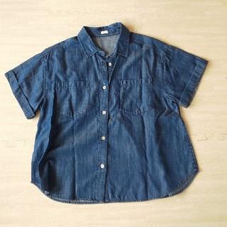 ジーユー(GU)のGU シャツ 美品(シャツ/ブラウス(半袖/袖なし))