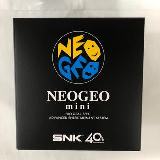 ネオジオ(NEOGEO)のNEOGEO mini(家庭用ゲーム本体)