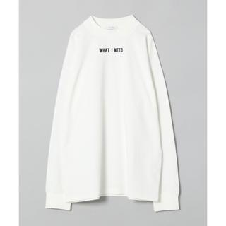 JEANASIS - 新品未使用☆JEANASIS ジーナシス  ロゴBIGロングTシャツ