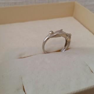 トラサルディ(Trussardi)のトラサルディ ちょっとK18とシルバーのリング 指輪(リング(指輪))