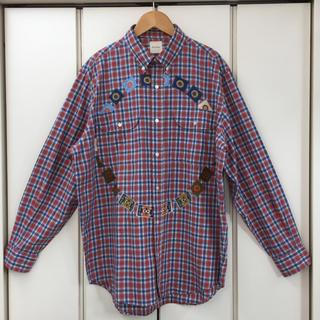 カールヘルム(Karl Helmut)のそこそこ美品!カールヘルム 長袖ボタンチェックシャツ(シャツ)