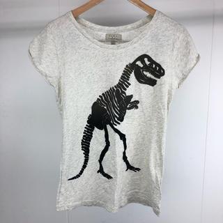 ザラ(ZARA)のZARA ザラ レディース Tシャツ 恐竜 Mサイズ(Tシャツ(半袖/袖なし))