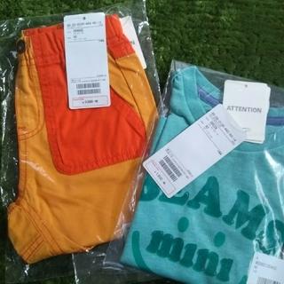 コドモビームス(こどもビームス)の【新品未使用品】BEAMSmini Tシャツ ハーフパンツ 90size(Tシャツ/カットソー)