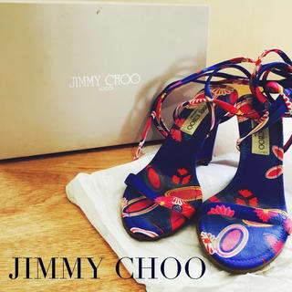 ジミーチュウ(JIMMY CHOO)の夏にぴったりジミーチュウレースアップ(サンダル)