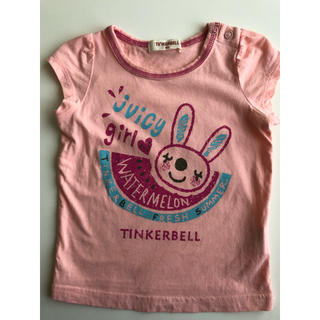 ティンカーベル(TINKERBELL)のTINKERBELL Tシャツ 80 ティンカーベル(Tシャツ)