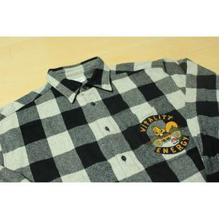 カステルバジャック(CASTELBAJAC)のCASTELBAJAC カステルバジャック ウール チェック 肉厚 長袖 XL(シャツ)