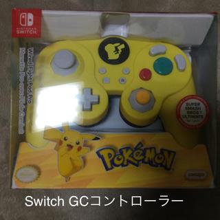 ニンテンドースイッチ(Nintendo Switch)のPDP クラシックコントローラー Switch ピカチュウ GCコントローラー(その他)