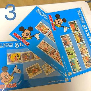 ディズニー(Disney)のディズニー  切手  3セット  (バンビ  他)(切手/官製はがき)