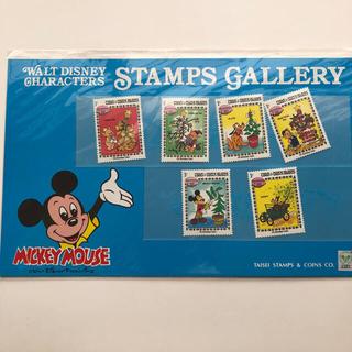 ディズニー(Disney)のディズニー  切手  3枚セット  (チップとデール 、サンタ)(切手/官製はがき)