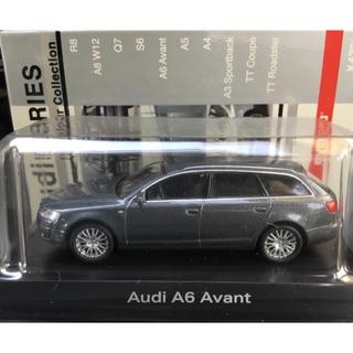 アウディ(AUDI)の京商 1/64 Audi アウディ A6 アバント グレーメタリック ガンメタ(ミニカー)