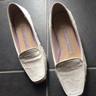 ランダ(RANDA)のRANDA❤︎白ローファー(ローファー/革靴)