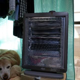 中古2011年製アラジン遠赤外線ヒーターAEH-S900Nブラウン(電気ヒーター)