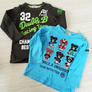 ダブルビー(DOUBLE.B)のダブルBロンT 2枚セット(Tシャツ/カットソー)