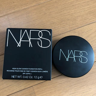 ナーズ(NARS)の人気  ナーズ    アクアティックグロークッションコンパクト  6801(ファンデーション)