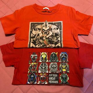 ジーユー(GU)の仮面ライダーTシャツ2枚(Tシャツ/カットソー)