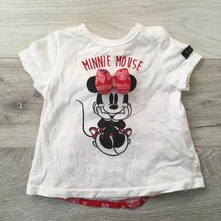 ディズニー(Disney)のバースデイ futafuta ミニー Tシャツ 70 綿100% ディズニー(Tシャツ)