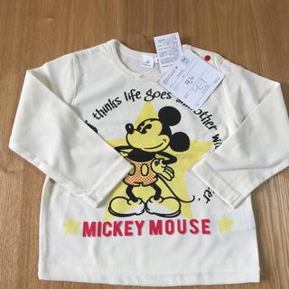ディズニー(Disney)のDisney  ミッキーTシャツ 90cm(Tシャツ/カットソー)