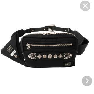 トーガ(TOGA)のBelt bag TOGA PULLA×PORTER ブラック(ボディーバッグ)