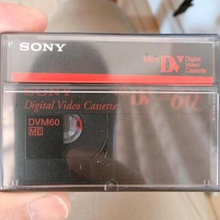 ソニー(SONY)のソニー ミニDVテープ(ビデオカメラ)