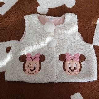 ディズニー(Disney)のミニー  モコモコベスト90(ジャケット/上着)