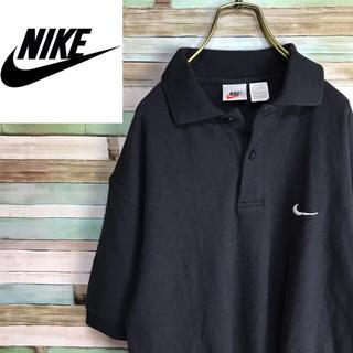 ナイキ(NIKE)のナイキ ポロシャツ 銀タグ ワンポイント刺繍ロゴ スウォッシュロゴ(ポロシャツ)