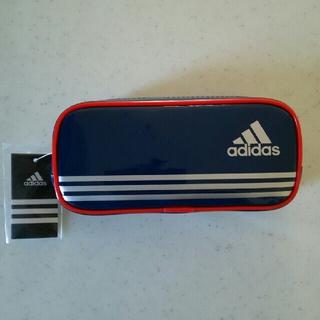 アディダス(adidas)の新品◆未使用「【送料込み】三菱鉛筆 アディダスペンケース(ブルー)」(ペンケース/筆箱)
