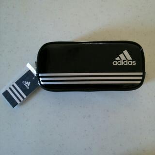 adidas - 新品◆未使用「【送料込み】三菱鉛筆 アディダスペンケース(ブラック)」