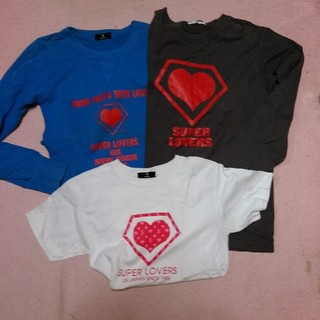 スーパーラヴァーズ(SUPER LOVERS)のSUPERLOVERS スーパーラヴァーズ セット(トレーナー/スウェット)