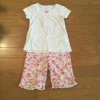 ジーユー(GU)のパジャマ 120 女の子 半袖(パジャマ)