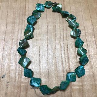 チャイハネ(チャイハネ)のフィリピンのお土産 グリーンのネックレス(ネックレス)