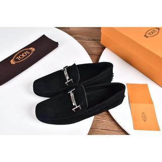 トッズ(TOD'S)の人気品 TODS  靴 ドレス サイズ44 黒い(ドレス/ビジネス)