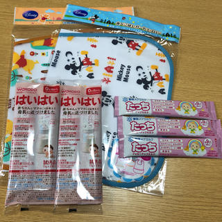 ディズニー(Disney)のお食事エプロン 粉ミルク(お食事エプロン)