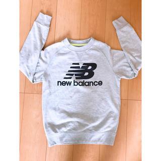ニューバランス(New Balance)のニューバランス トレーナー グレー S レディース(トレーナー/スウェット)