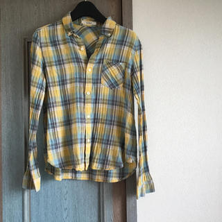 バナーバレット(Banner Barrett)のバナーバレット チェックシャツ 柄シャツ リネン混シャツ ブラウス(シャツ/ブラウス(長袖/七分))