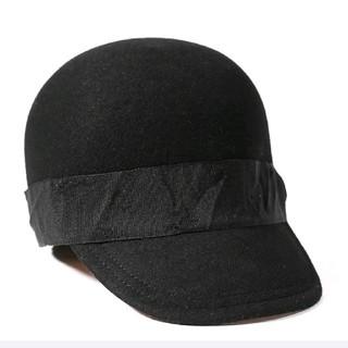 ディーゼル(DIESEL)のDIESEL 帽子 レディース ウール フェルト 乗馬キャップ ジョッキーハット(ハット)