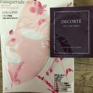 コスメデコルテ(COSME DECORTE)のシリコーンマスクとコスメデコルテマスク(パック / フェイスマスク)