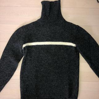 タケオキクチ(TAKEO KIKUCHI)のTakeo Kikuchi タートルネックセーター(ニット/セーター)